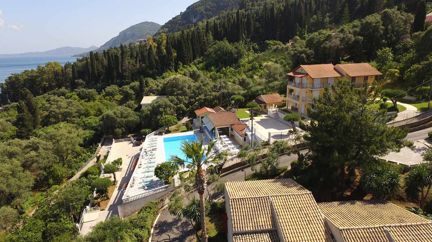 Brentanos Apartments in Corfu